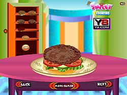 Cooking Big Burger game