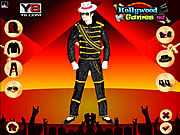 Play Michael jackson dress up Game