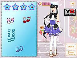 Chơi trò chơi miễn phí Anime Dress Up