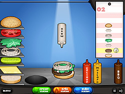 Играть бесплатно в игру Papa's Burgeria