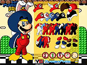 Play Mario bros dress up Game