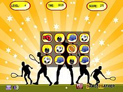 Bomb Memory Sports game