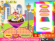Play Strawberry ice cream Game