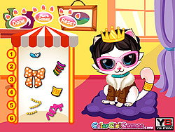 Kitten Salon game
