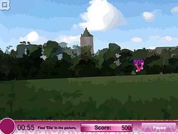 Ella at Fantasy Castle game