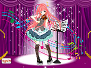 Violin Girl Dress Up game