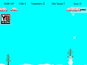 Snowman Survive game