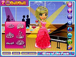 Gioca gratuitamente a Mina at the Prom