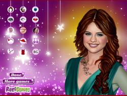 Selena Gomez Tattoos Makeover game
