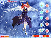 Music angel dress up Spiele