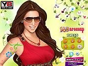 Kim Kardashian Celebrity Makeover game