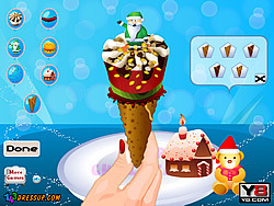 Yummy Cone Ice Cream game