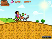 Play Dora dairy delivery Game