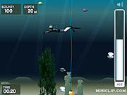 Play Pearl diver miniclip Game