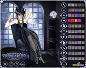 Play Ms dracula - vampire dress up Game
