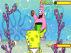 Sponge Bob Square Pants: Shell Throwing game