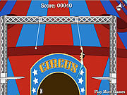 Play Circus of idiots trapeze Game