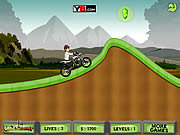 Play Ben 10 moto champ Game