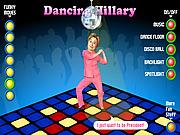 Chơi trò chơi miễn phí Dancing Hillary