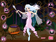Play Good witch makeover Game
