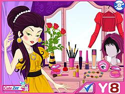 무료 게임 플레이 Stylish Cover Girl  Makeover