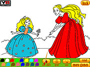 Play Coloring 8 princesses Game