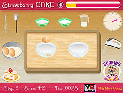 Strawberry Cake game