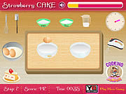Play Strawberry cake Game