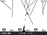 Play Flying string defense Game
