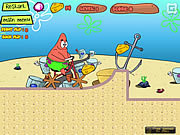 Play Patrick cheese bike Game