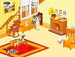 Spielen Sie das Gratis-Spiel  Kid's Living Room Decor