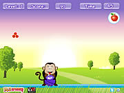 Play Hungry monkey Game