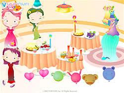 Spielen Sie das Gratis-Spiel  Girl's Party