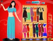 Play Indian girl dress up Game