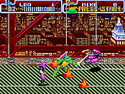 Play Teenage mutant ninja turtles iv 1992 Game
