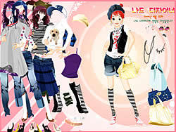 Dress Up Sporty Girl game