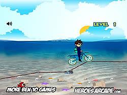 Maglaro ng libreng laro Ben 10 Motocross Under the Sea