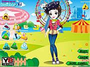 Play Autumn amusement park Game