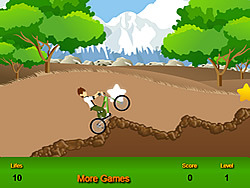 Juega al juego gratis Ben 10  Bicycle