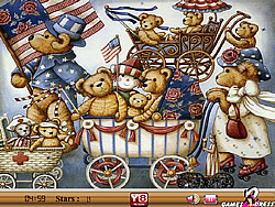 Hidden Stars-Teddy game
