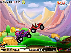 Bumpy Racer game