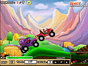 Play Bumpy racer Game