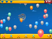 Play Crazy balloon shooter Game