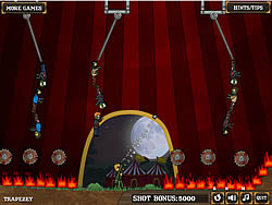 Jogar jogo grátis Flaming Zombooka 3