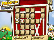 Play Farmyard memory Game