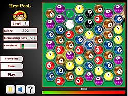 Hexa Pool game