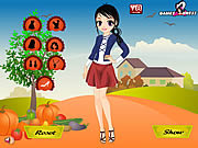 Play Thanksgiving girl dress up Game