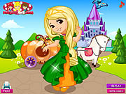 Play Cinderella pumpkin carriage Game
