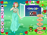 Rose Party Dress Up game