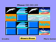 Play Dolphin match game Game